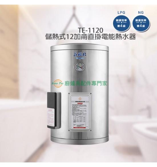 TE-1120 儲熱式12加侖直掛電能熱水器