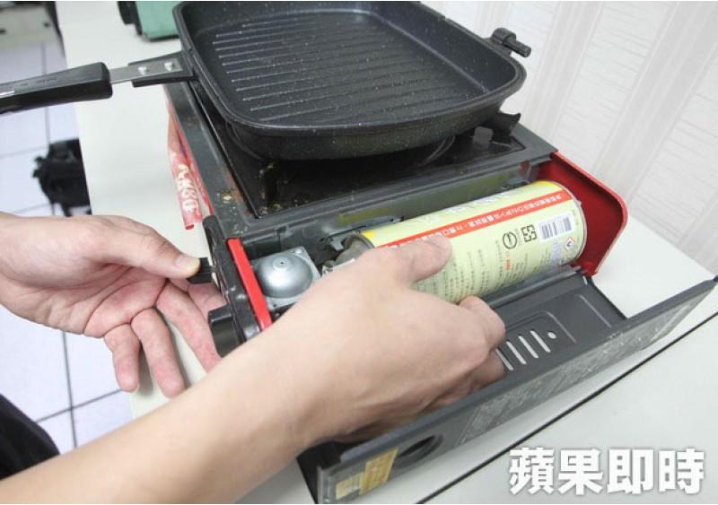使用卡式瓦斯爐 遵守4步驟、觀察5重點