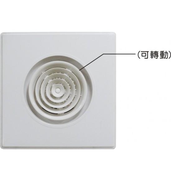 """圓型旋轉式(60X60mm)   6"""""""