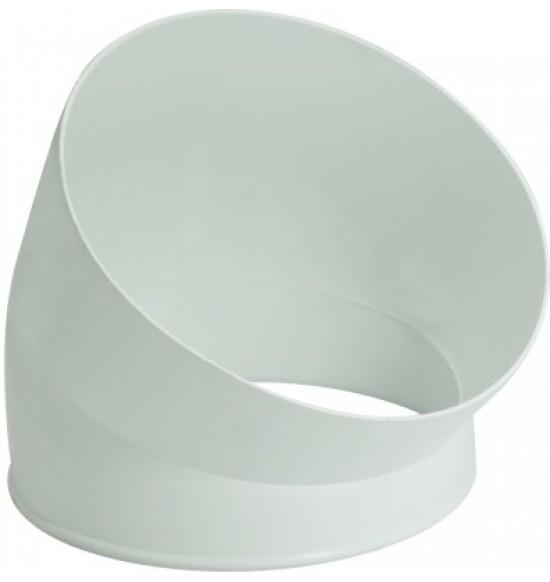 45°塑膠彎頭(1入)
