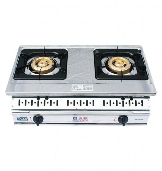WG-2601雙環銅安全瓦斯爐(崁入型)