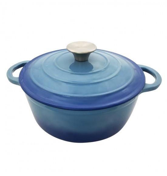 圓形鑄鐵琺瑯鍋22cm