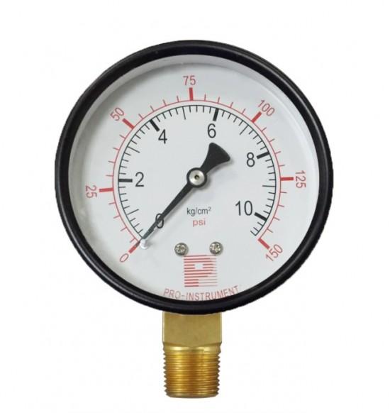 瓦斯壓力錶(配管用)10kg