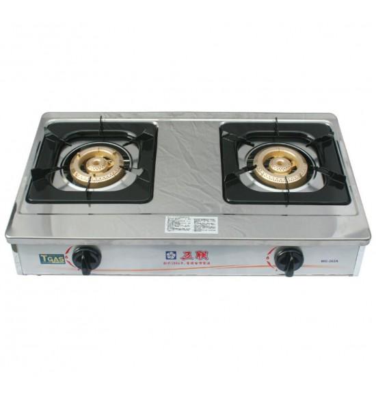 WG-262A雙環銅安全瓦斯爐(桌上型)