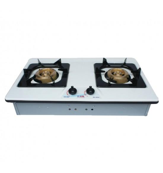 WG-3602AE雙銅琺瑯面檯面爐(檯面爐)