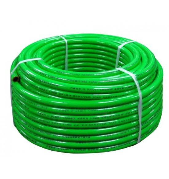 三分9620氣體燃料強化型橡膠管-50米(綠)