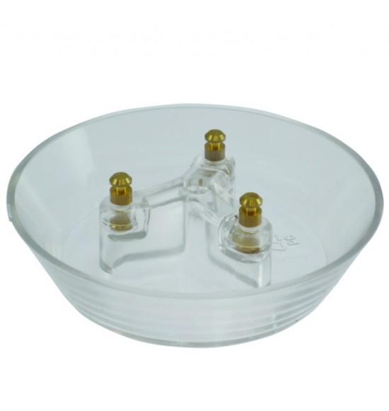 加高形三叉孔油杯-銅柱2入/組