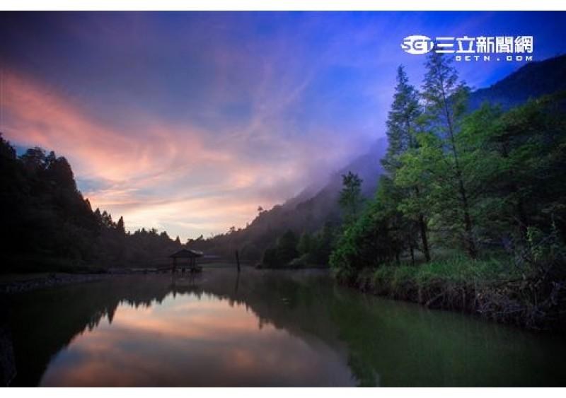 離台北最近秘境!遊台灣阿爾卑斯山 楓紅、落羽松一次搞定