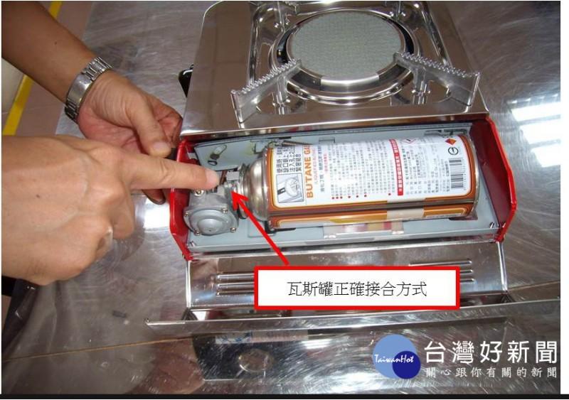 選用攜帶式卡式爐 檢驗局提供小技巧